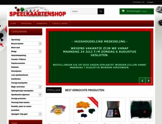 speelkaartenshop.nl screenshot