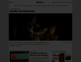 spektrumdirekt.de screenshot