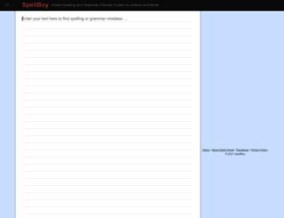 spellboy.com screenshot