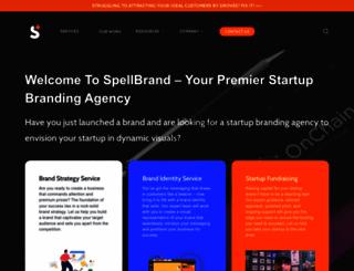 spellbrand.com screenshot