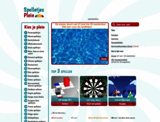 spelletjesplein.nl screenshot