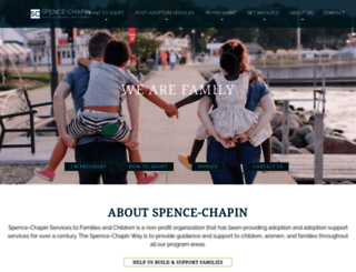 spence-chapin.org screenshot