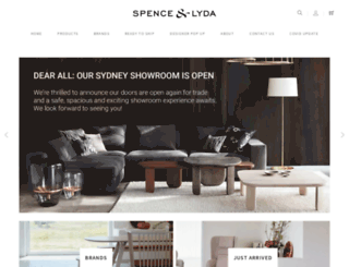 spenceandlyda.com.au screenshot