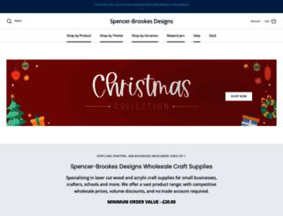 spencerbrookesdesigns.co.uk screenshot