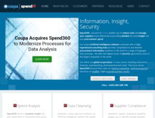 spend360.com screenshot