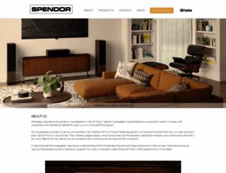 spendoraudio.com screenshot
