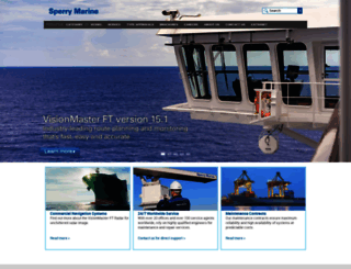 sperrymarine.com screenshot