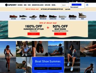 sperrytopsider.com screenshot