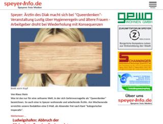 speyer-aktuell.de screenshot