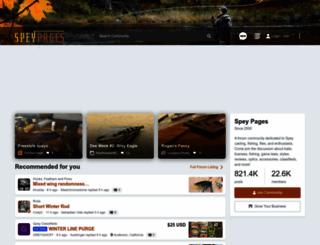 speypages.com screenshot