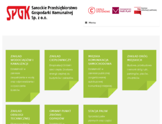 spgk.com.pl screenshot