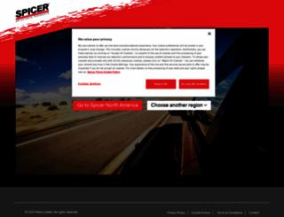 spicerparts.com screenshot