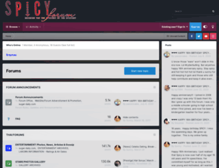 spicyforum.net screenshot