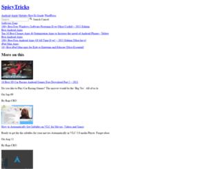 spicytricks.com screenshot