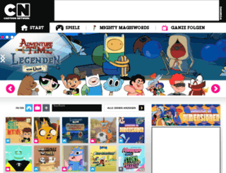 spielaffe.cartoonnetwork.de screenshot