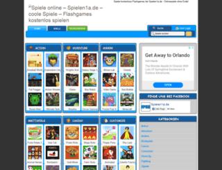 spielen1a.de screenshot