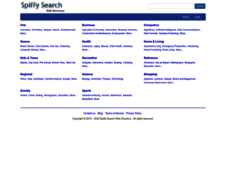 spiffysearch.com screenshot