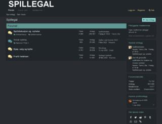 spillegal.no screenshot