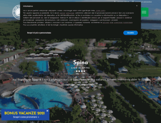 spinacampingvillage.com screenshot
