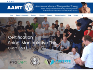 spinalmanipulation.org screenshot