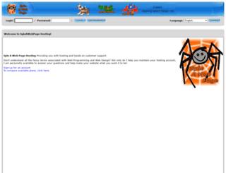 spinawebpage.com screenshot