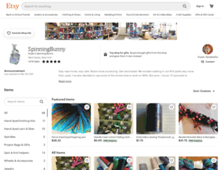 spinningbunny.com screenshot