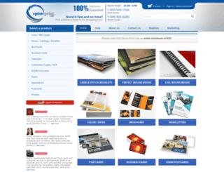 spinnprint.com screenshot