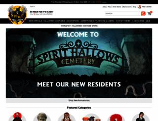 spirithalloween.com screenshot