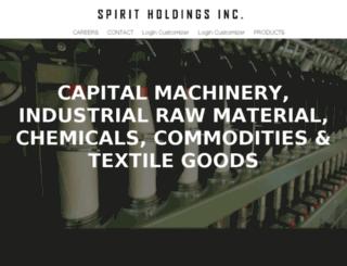 spiritholdingsusa.com screenshot
