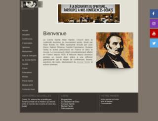 spiritisme.com screenshot