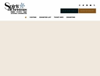 spiritofchristmasfair.co.uk screenshot