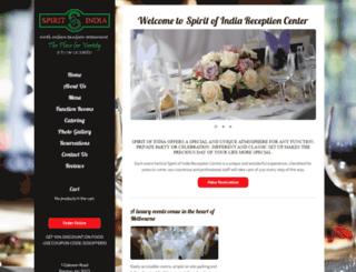 spiritofindia.com.au screenshot