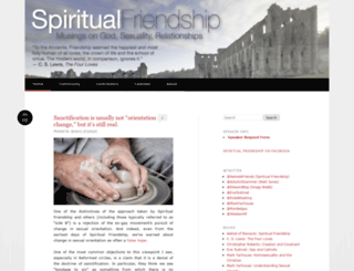 spiritualfriendship.org screenshot
