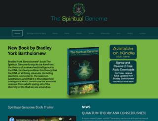 spiritualgenome.com screenshot