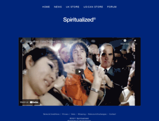 spiritualized.com screenshot