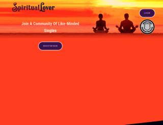 spirituallover.com screenshot