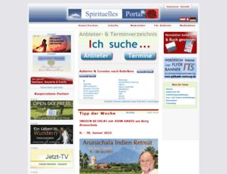 spirituelles-portal.de screenshot