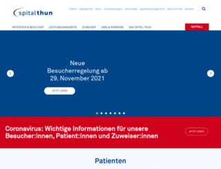 spitalstsag.ch screenshot