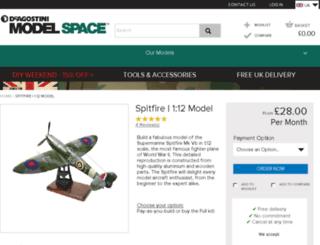spitfire.model-space.com screenshot