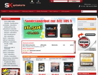 spitzekarte.com screenshot