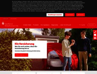 spk-hennstedt-wesselburen.de screenshot