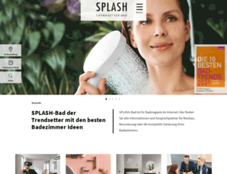 splash-bad.de screenshot