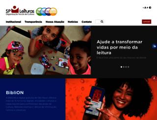 spleituras.org.br screenshot