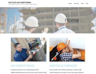 splitairconditioning.net screenshot