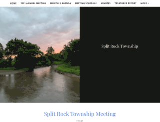 splitrocktownship.com screenshot