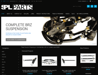 splparts.com screenshot