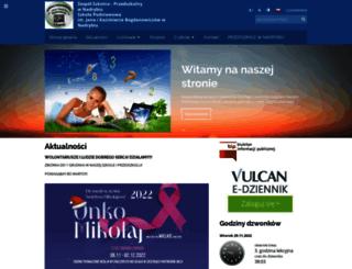 spnadrybie.edupage.org screenshot