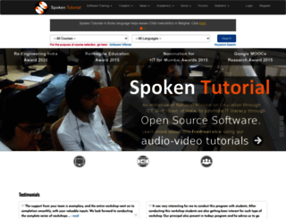 spoken-tutorial.org screenshot