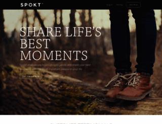 spokt.com screenshot