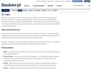 spolka.bankier.pl screenshot
